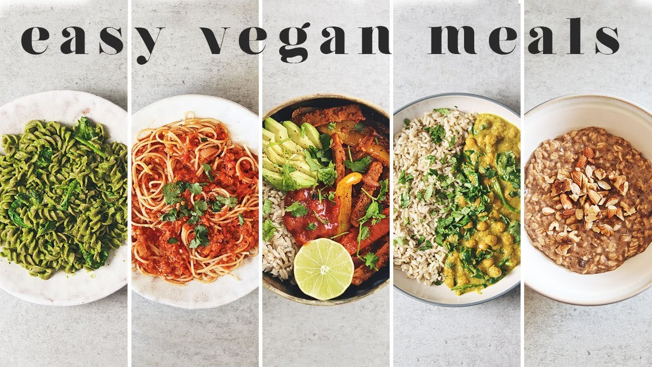 Easy vegan meal ideas