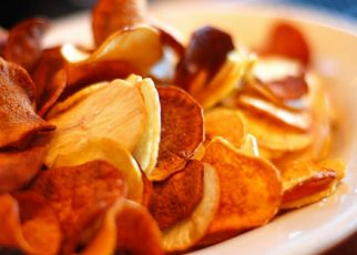 Baked Veggie Chips