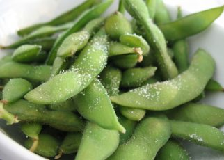 Edamame With Sea Salt Snacks