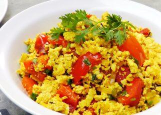 Tofu Bhurji – Vegan Bhurji
