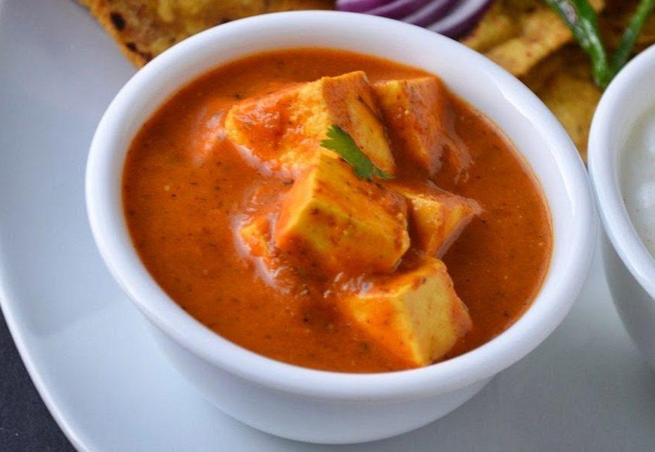 Vegan Paneer Lababdar with Tofu