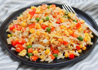 Vegetable Carrot Fried Rice