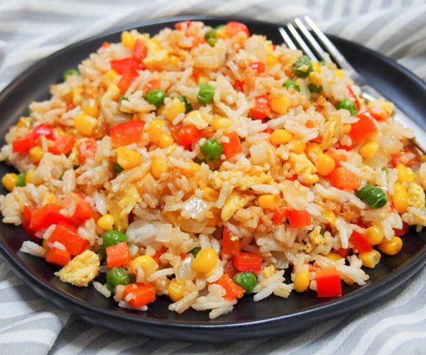 Vegetable Carrot Fried Rice