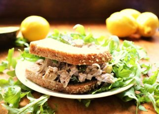 """No-Tuna"" Salad Sandwich"