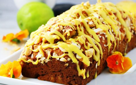 vegan mango bread