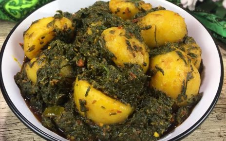 Aloo Palak – Potato Spinach Curry