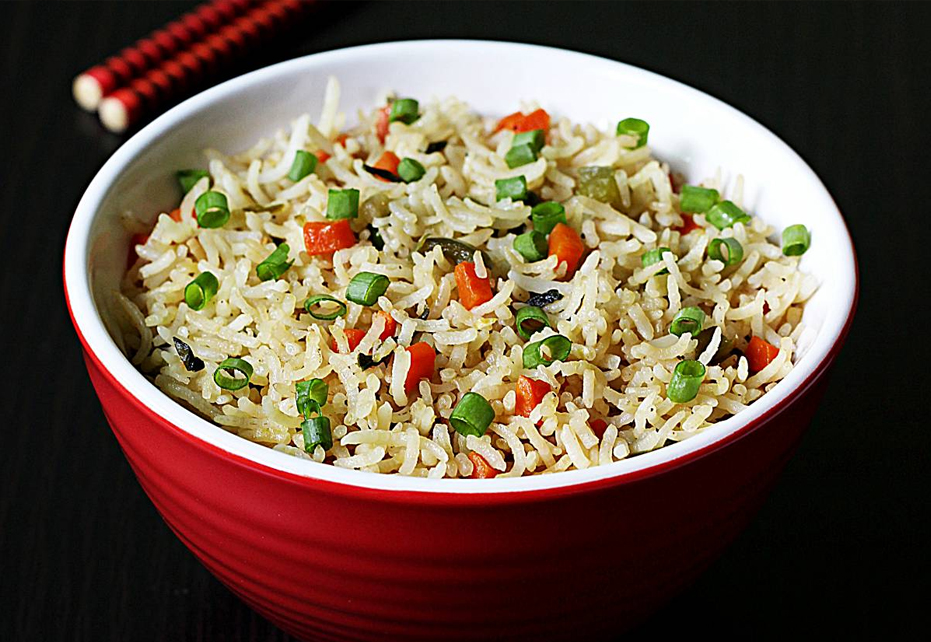 Flavourful Pea Pulao with Lemon