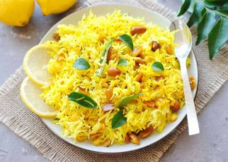 Lemon Rice With Brown Rice