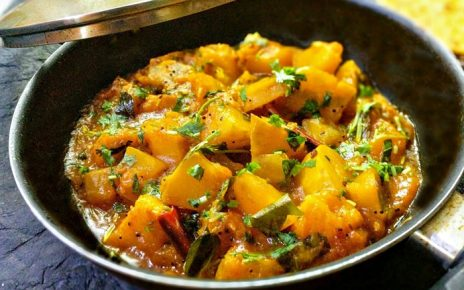 Sweet and Sour Pumpkin Curry