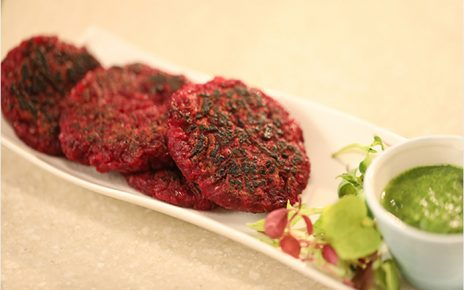 Aloo and Beetroot Tikkis