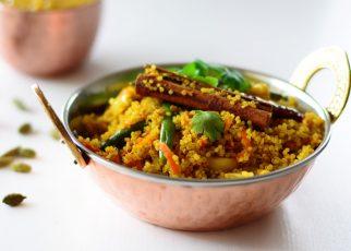 Healthy Vegetarian Quinoa Biryani