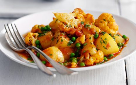 Roasted Cauliflower Curry