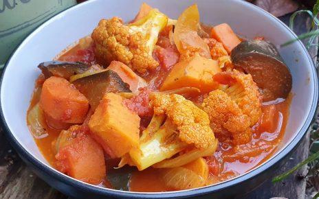 easy cauliflower curry