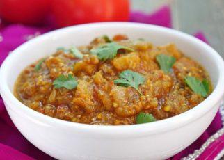 Baingan Bharta: Indian-Style Roast Eggplant Dip
