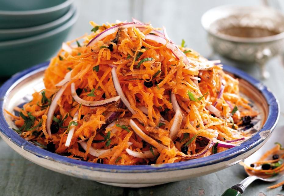 Indian Carrot Salad