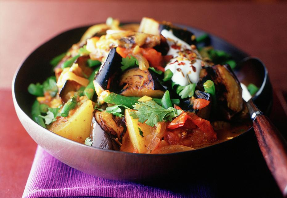 Potato Tomato Stir Fry