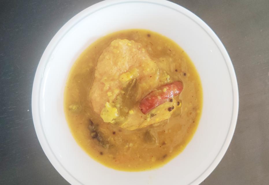 Vegan Vada Sambhar Recipe