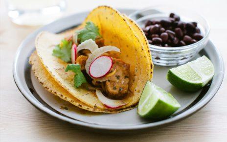 Jerk Spiced Vegan Tacos