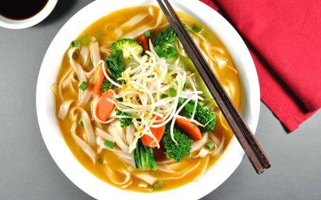 Easy Quick Vegetarian Pho Recipe