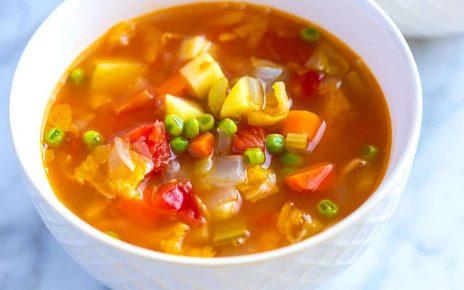 Many Veggie Soup